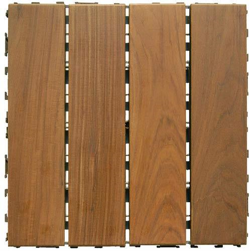 Swiftdeck Ipe Wood Deck Tile
